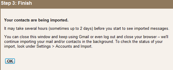 how to get contacts from firefopx to gmail