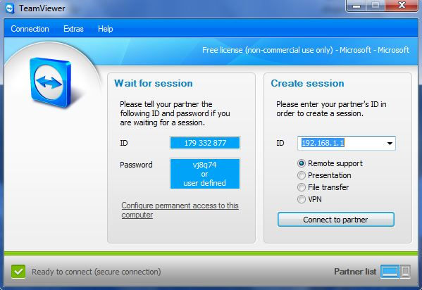 Access Home PC From Anywhere Using Portable TeamViewer