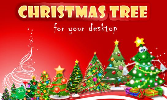 cd Desktop Christmas Tree With Blinking Lights