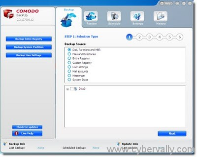 Comodo Backup Windows7 Top 5 Free Backup Programs for Windows 7