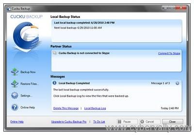 cucku backup software Top 5 Free Backup Programs for Windows 7