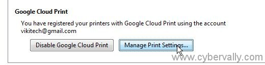 cp5 How to Setup Google Cloud Print on Your PC