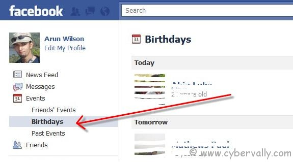 fb bday How to Export Birthdays From Facebook to Google Calendar