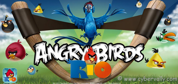 AngryBirdsRio thumb1 Download Angry Birds Rio Movie Theme for Windows