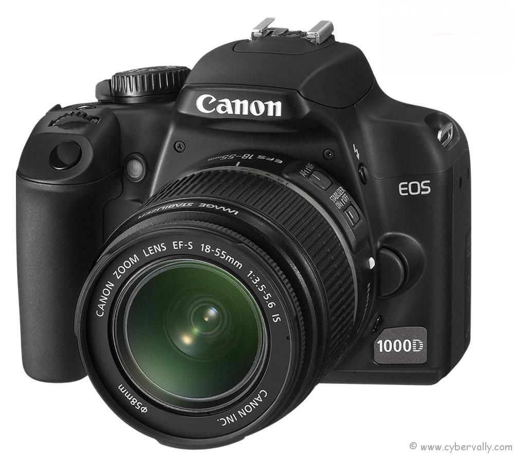 1000d Top 3 Entry Level Digital SLR cameras For Beginners