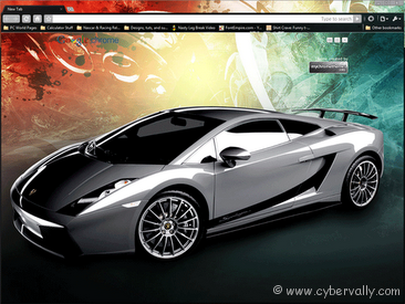 Lamborghini Top 10 HD Quality Google Chrome Themes for Download