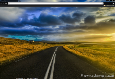 The Open Road Theme Top 10 HD Quality Google Chrome Themes for Download
