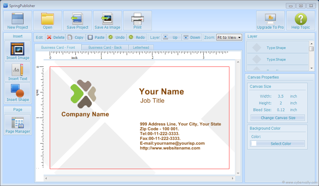 Now Design And Print Business Cards Invitation Letters