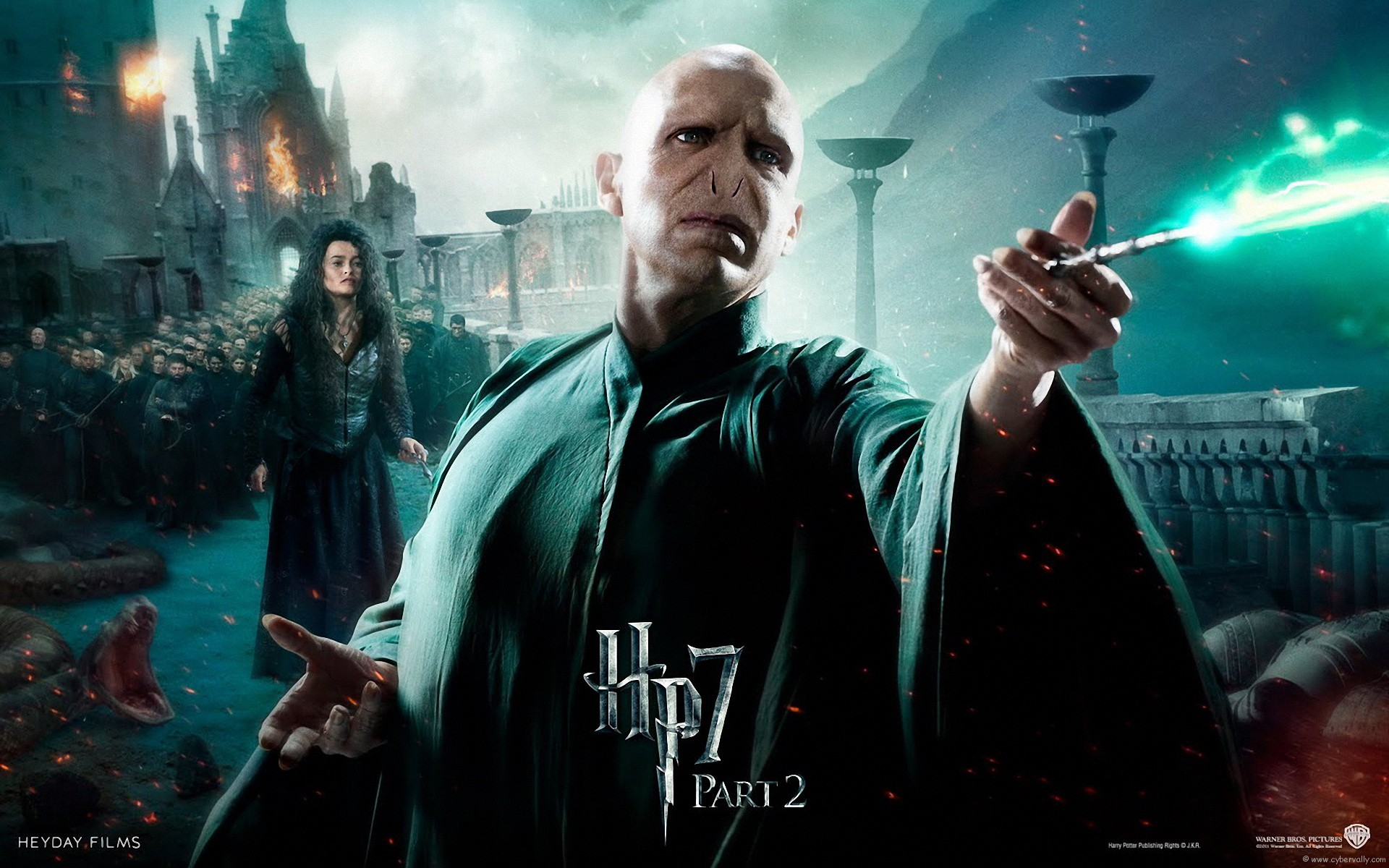 Harry Potter And The Deathly Hallows Part 2 Wallpapers And