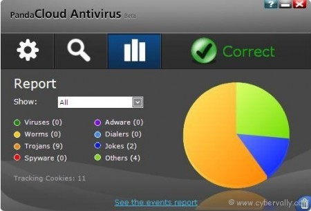panda cloud antivirus 450x305 Top 4 Free Cloud Based Antivirus
