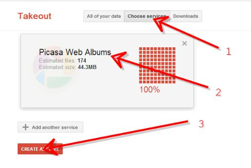 select album How to Download Your Photos and Albums from Google Plus