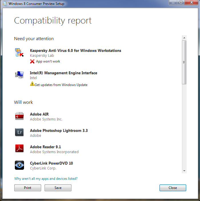windows 8 report How to Check Software and Hardware Compatibility with Windows 8
