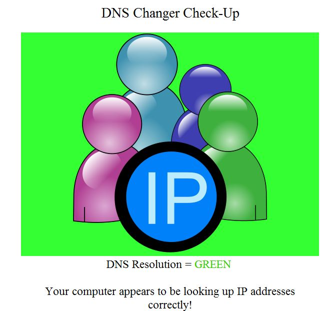 dns check up How to Detect and Remove If Your Computer Has Been Infected with DNS Changer