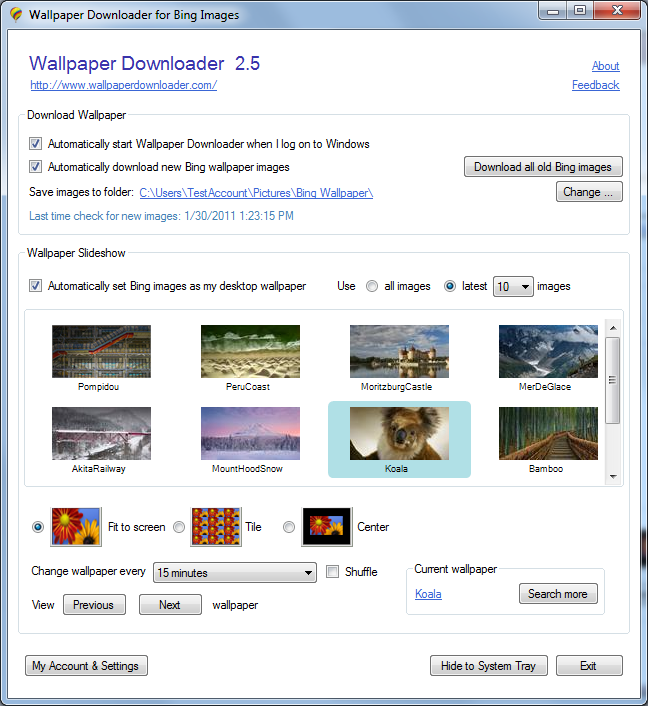 download all old bing wallpapers