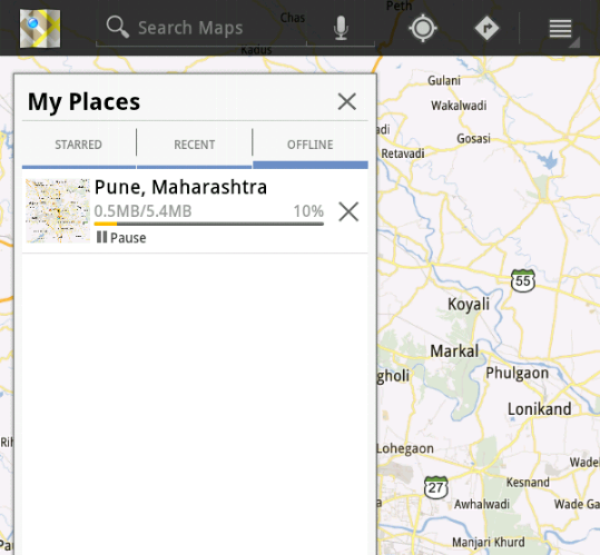 How to Download Google Maps and Use offline in Android Download Google Maps Android Offline Use on