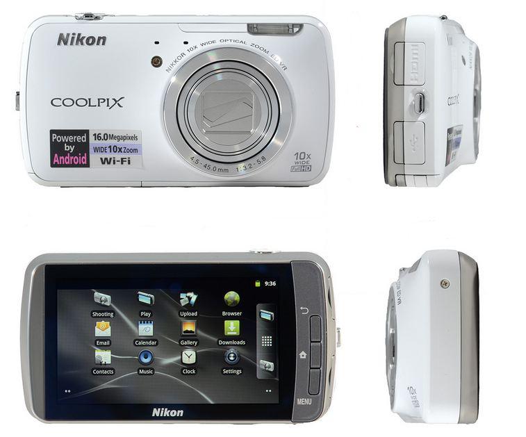 Nikon Coolpix S800c Android Powered Digital Camera