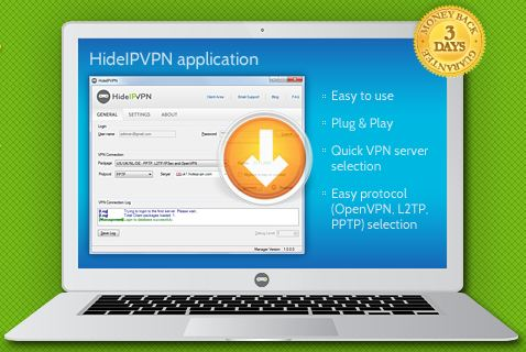 HideIP Giveaway : 15 HideIpVPN US and UK Free VPN Accounts