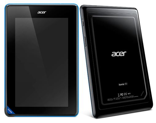 acer b1 free Acer launches 7 inch Iconia B1 tablet in India at Rs 7,999