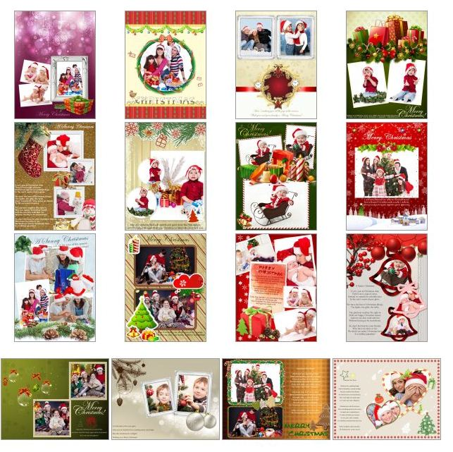 Giveaway Make Personalized Christmas Cards Using Picture Collage Maker Pro